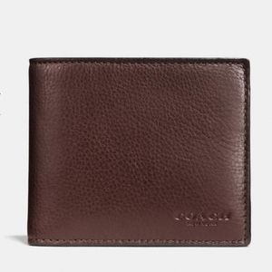 NWT Coach Compact Id Wallet